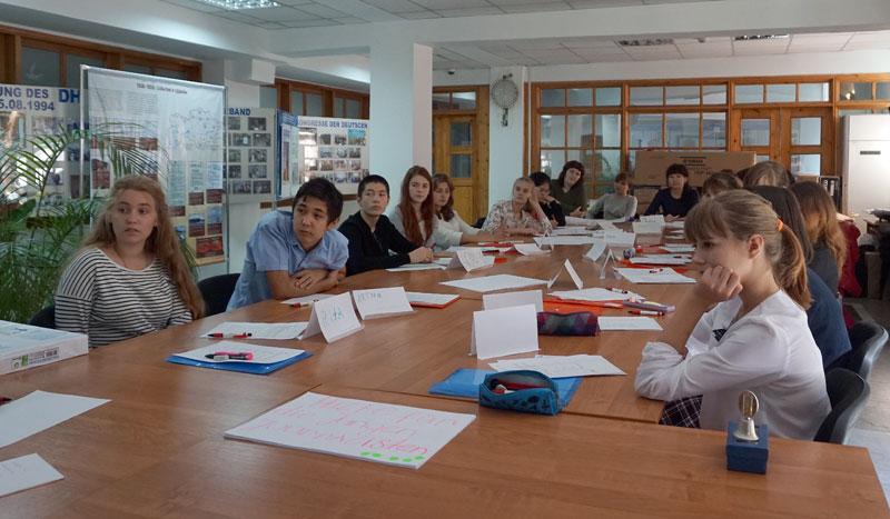 Юные редакторы в Немецком доме