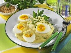 Горчичные яйца