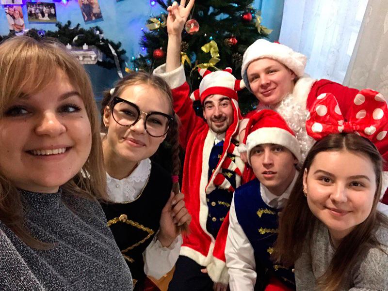 Рождественский праздник в Караганде