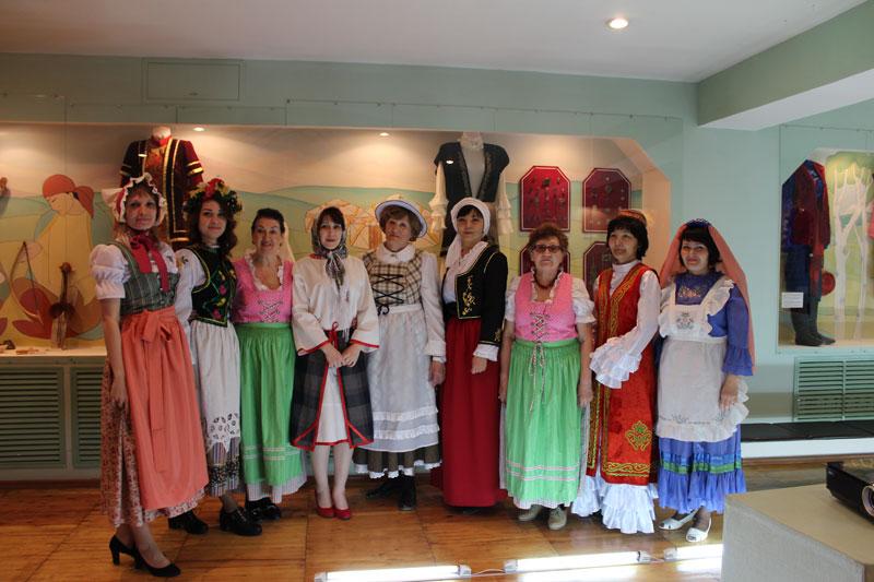 Народный костюм как бесценное достояние культуры