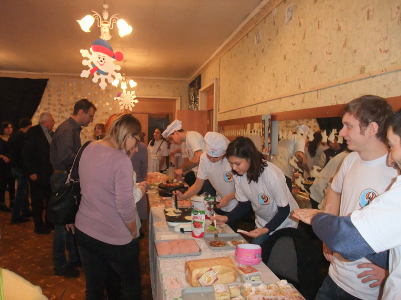 Рождественский базар в Караганде