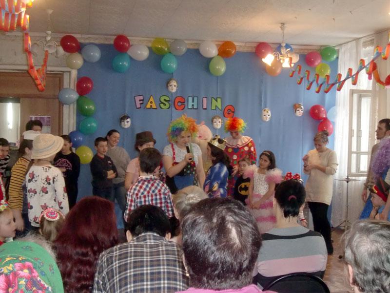 Fasching – карнавал в Караганде