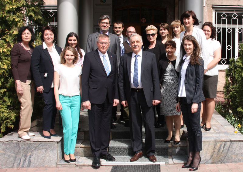 Визит Вице-президента Бундестага в Немецкий дом