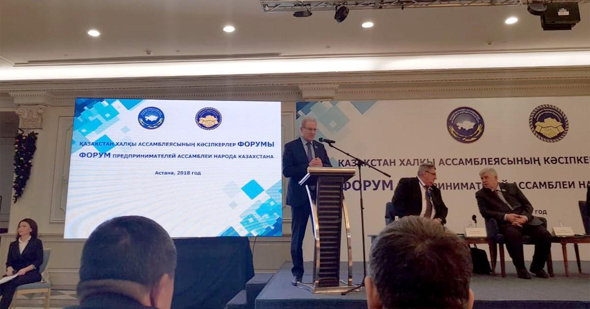 Der Unternehmerverband der Volksversammlung Kasachstans bei der Umsetzung der Anweisungen des Staatsoberhauptes