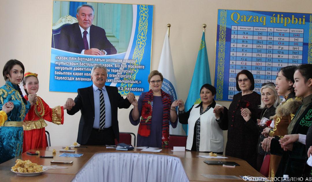 Der Startschuss der Veranstaltungen zum Tag der Einheit des Volkes Kasachstans