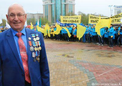 """Leo Schik: """"Ich bin dem Schicksal dafür dankbar, dass es mich in das gütige Land Kasachstan geführt hat"""""""