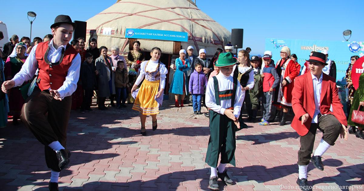 Танцевальный рай в Актау
