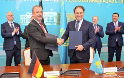 Deutsch-Kasachische Regierungskommission tagt in Nur-Sultan