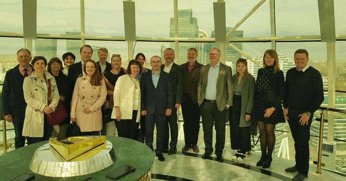 Der Besuch der deutschen Delegation in Nur-Sultan