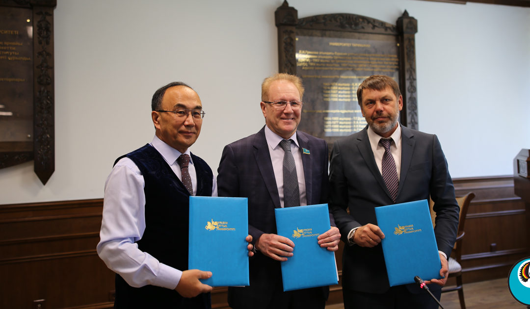 Подписан меморандум о сотрудничестве с ЕНУ им. Гумилева