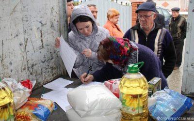 Jeder bringt sich ein… die Deutschen aus Aktobe erhalten soziale Hilfe
