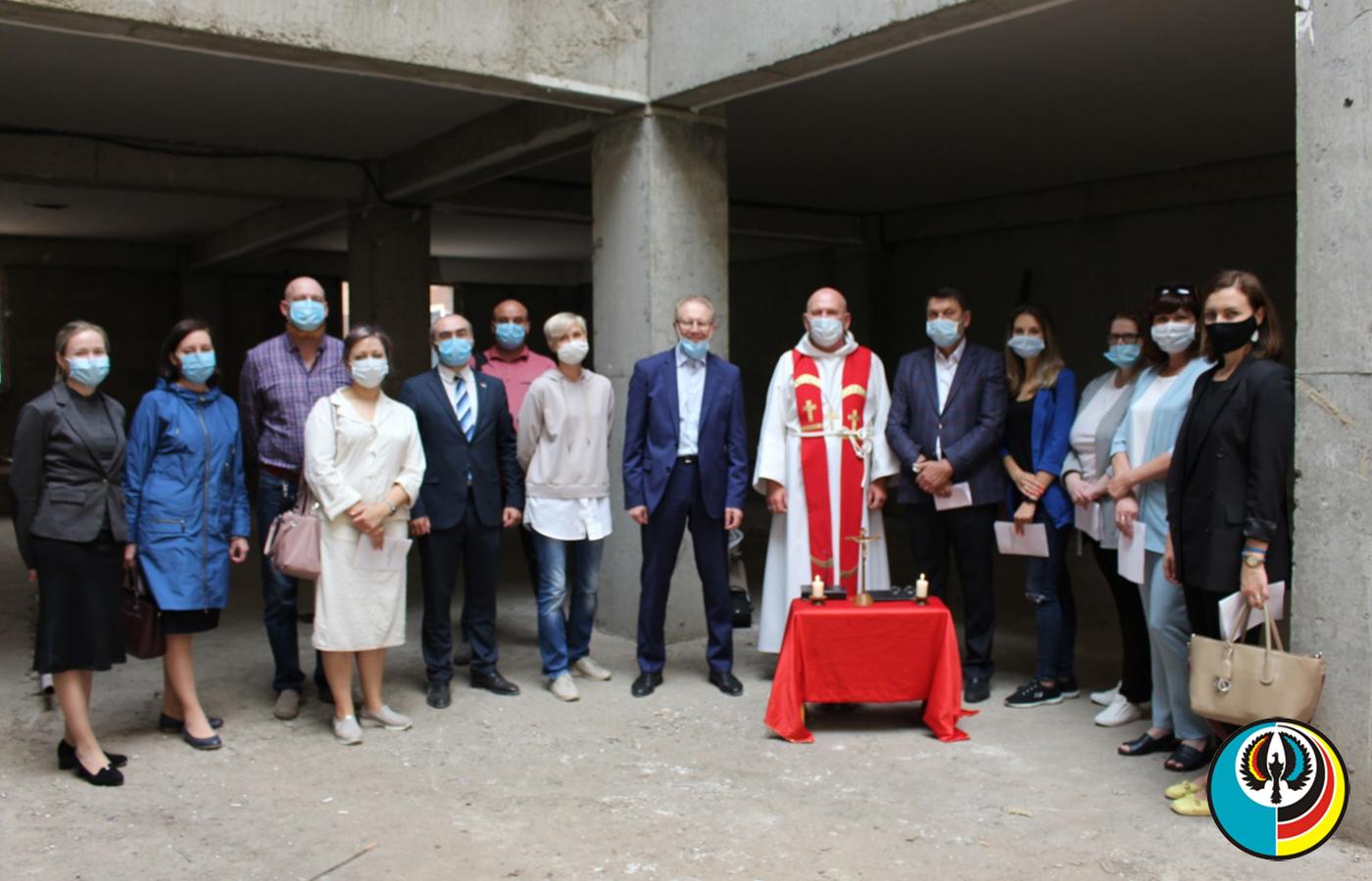 В Нур-Султане освятили здание Казахстанско-Немецкого Центра