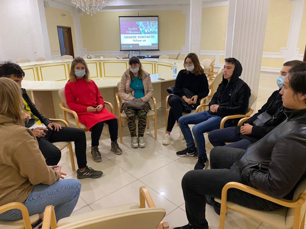 СНМК: Диалог с молодежью Уральска