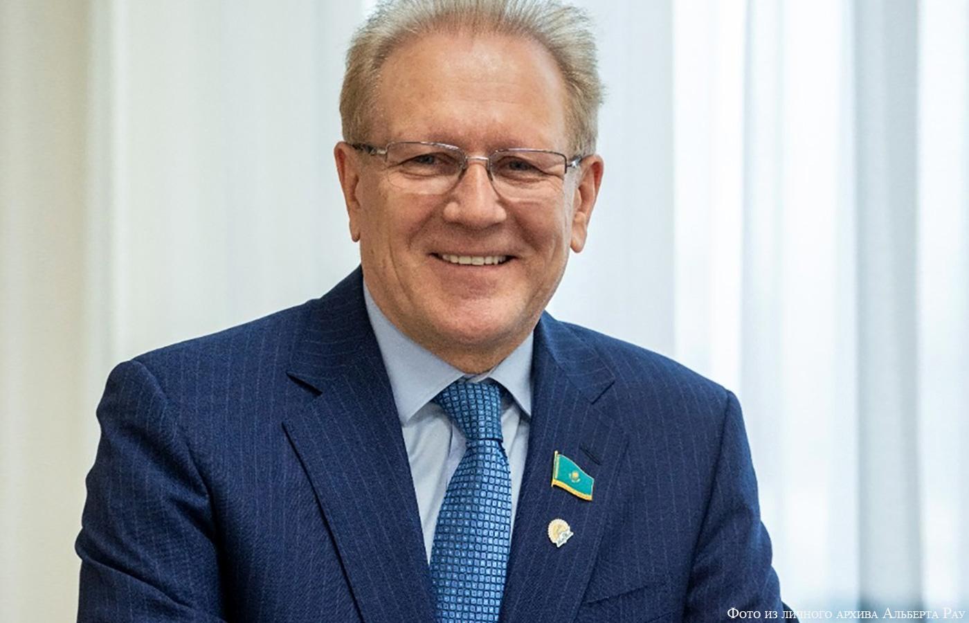 Альберт Рау утвержден в качестве депутата Мажилиса Парламента РК