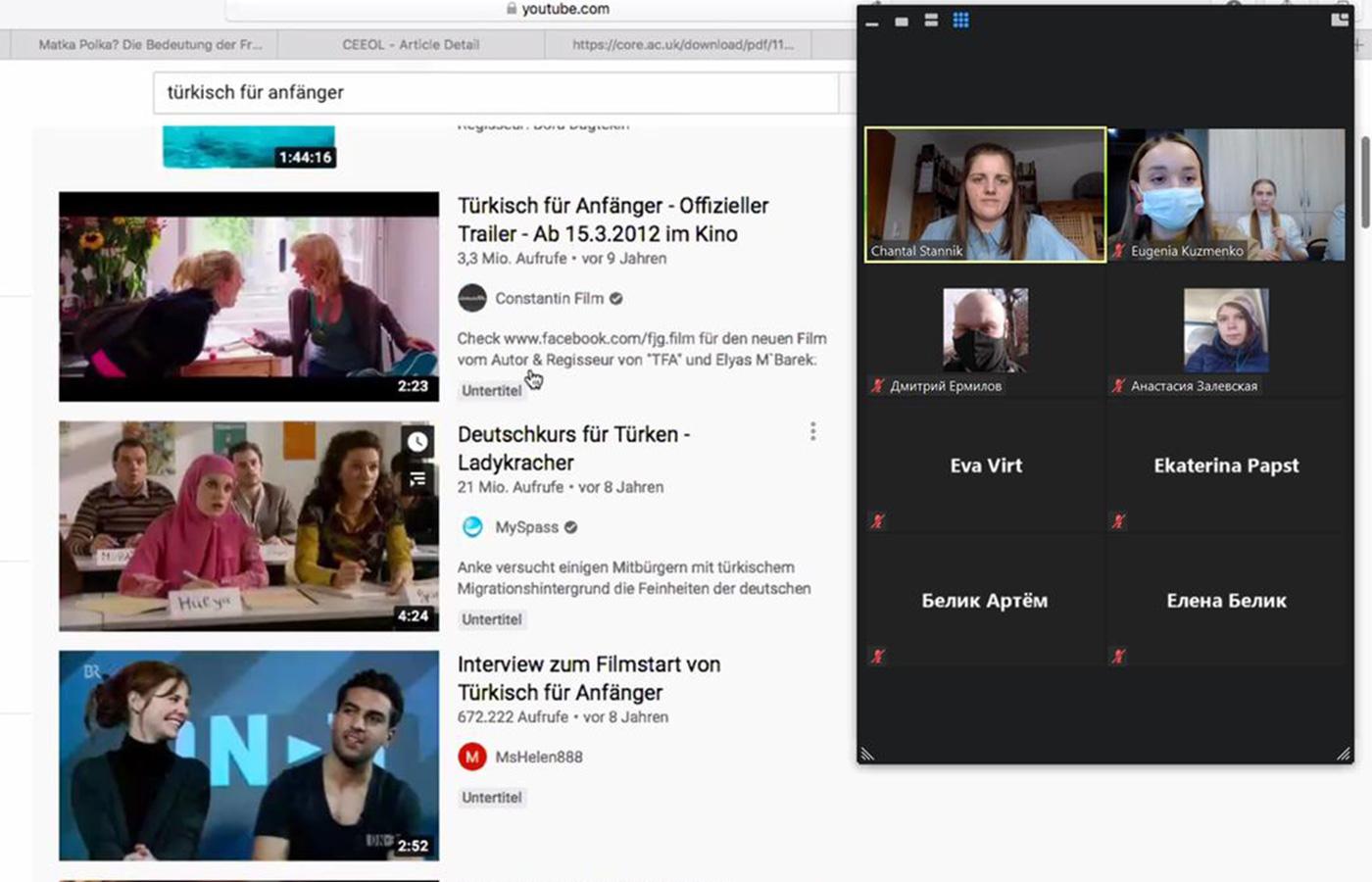 В КНМ «Nord» прошла онлайн встреча с языковым ассистентом