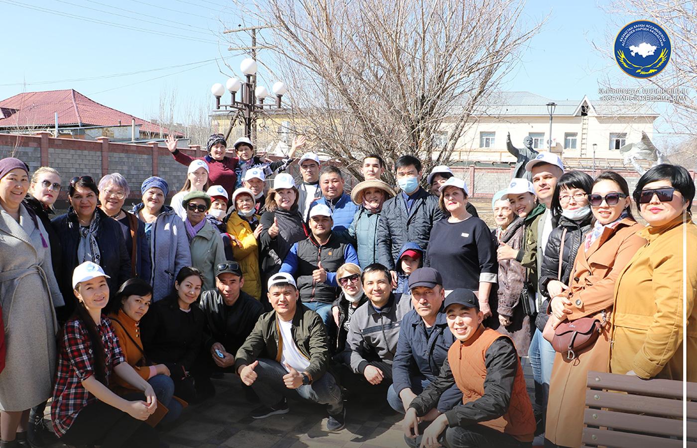 Немцы Кызылорды приняли участие в экологической акции