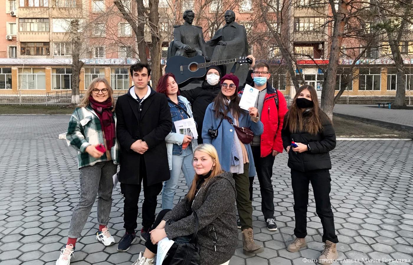 Мобильные группы Союза немецкой молодежи Казахстана в Семее