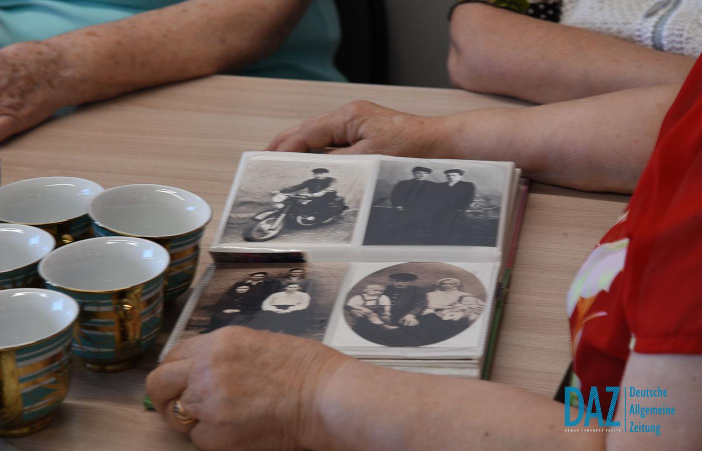 Treffen mit den Senioren von Petropawlowsk