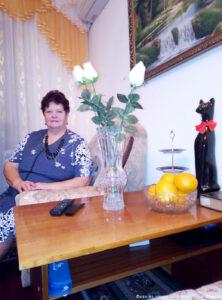 Падалко Нина Гербертовна, внучка Шмидт Елизаветы Андреевны