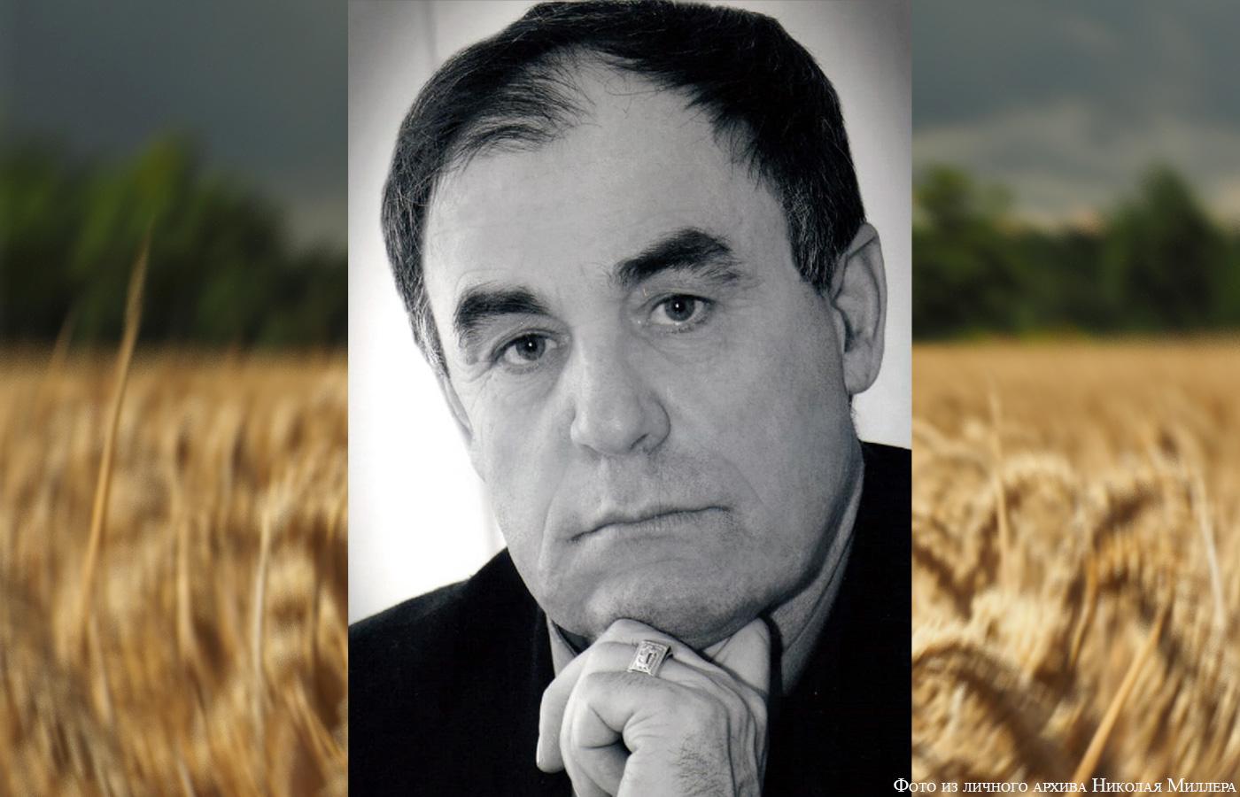 Der berühmte Getreidebauer des Irtysch-Kreises Nikolai Miller
