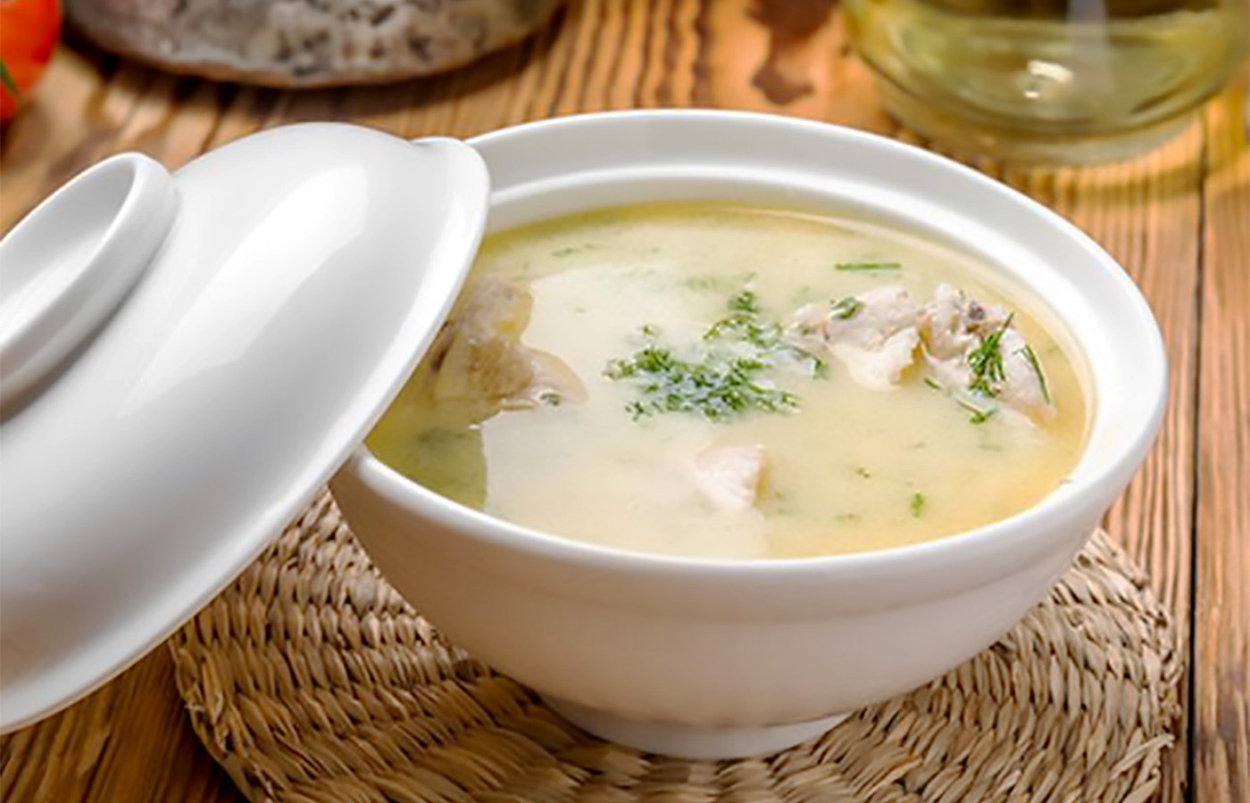 Манный суп