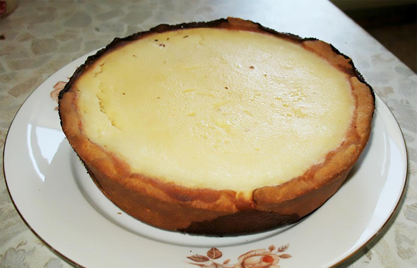 Торт с начинкой из цедры