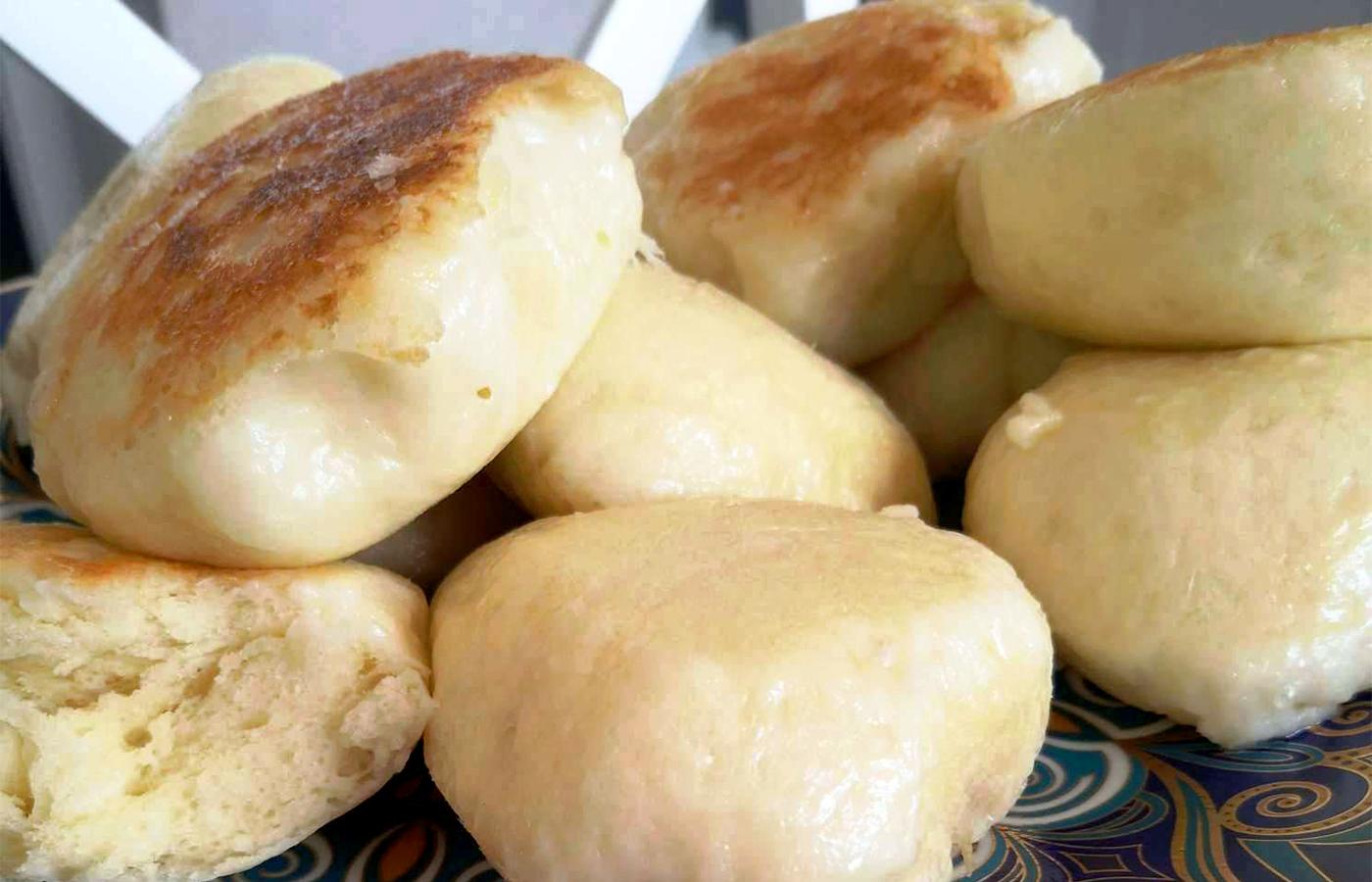 Немецкие булочки с соленой корочкой