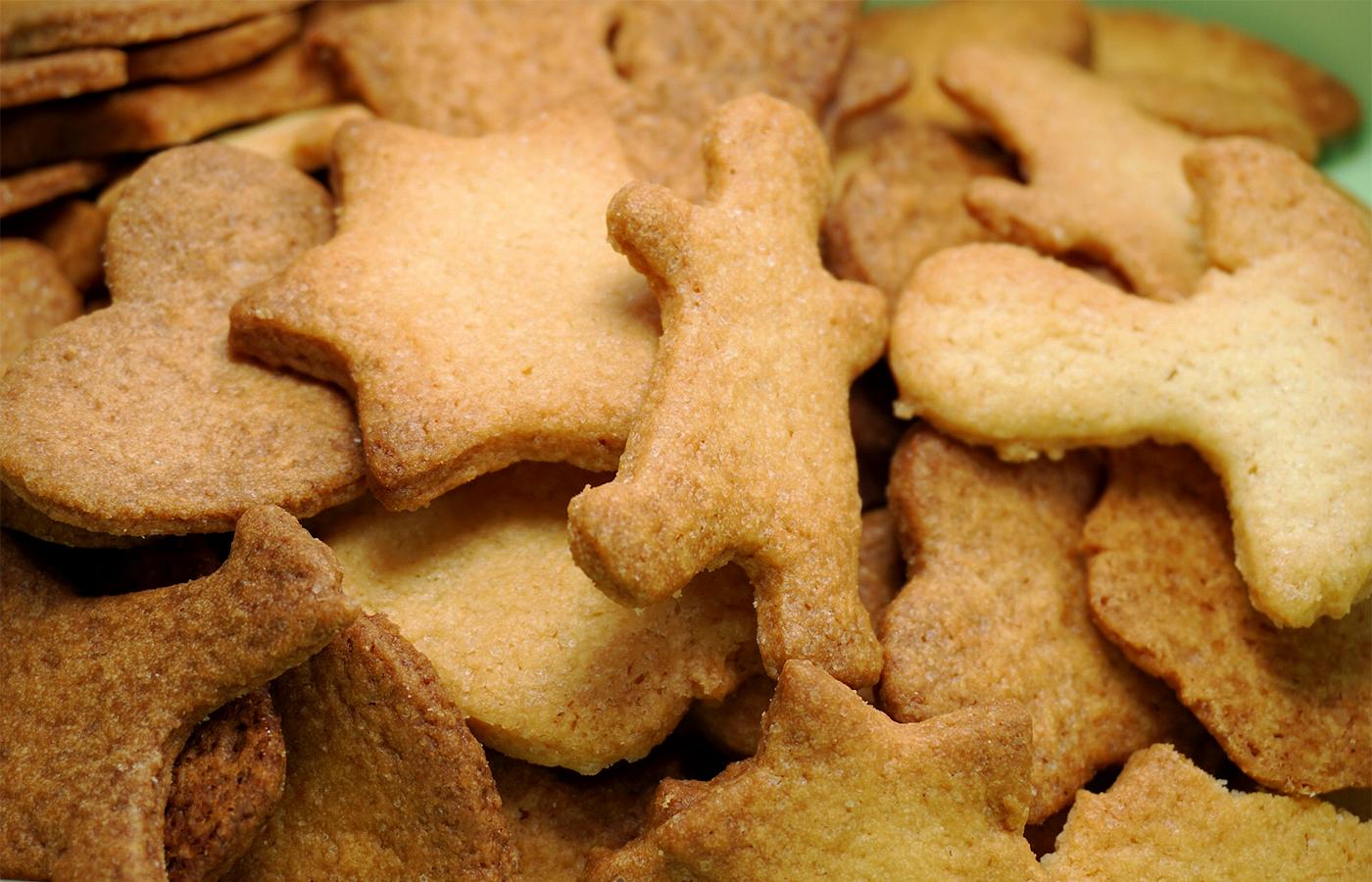 Немецкое рождественское печенье