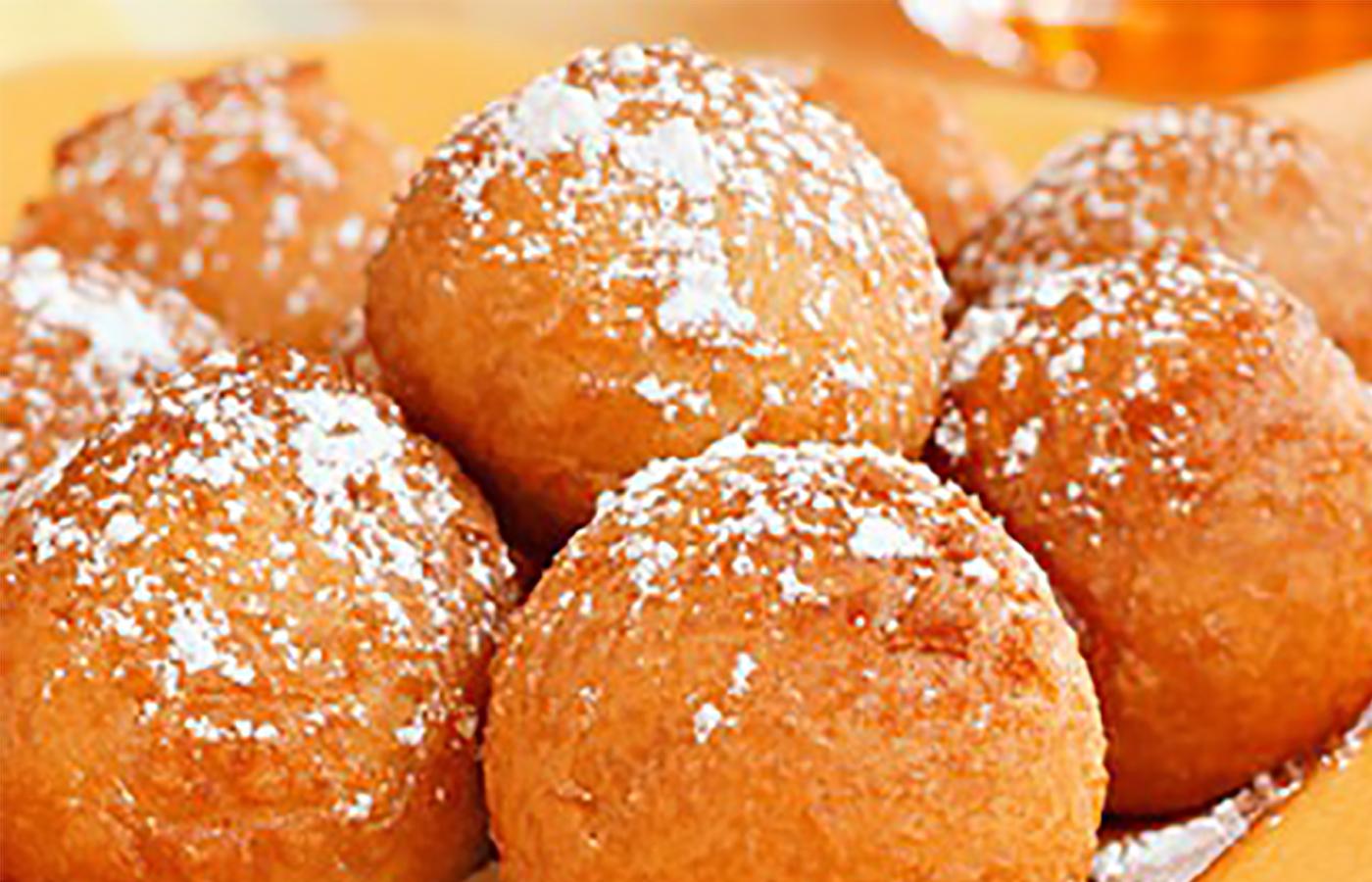 Печенье-пончики